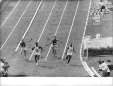 Athletes during a marathon competition.