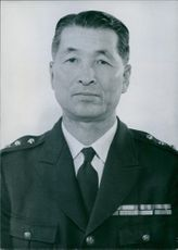 Portrait of Japanese Chief of Staff of the Ground Self Defence Forces General Ichiji Sugita.
