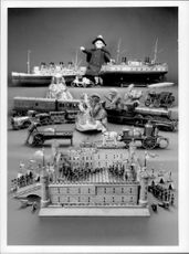 A selection of toys, trains and models from the London Toy and Model Museum collection