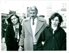 David Duckworth with wife Claudine and daughter Sally