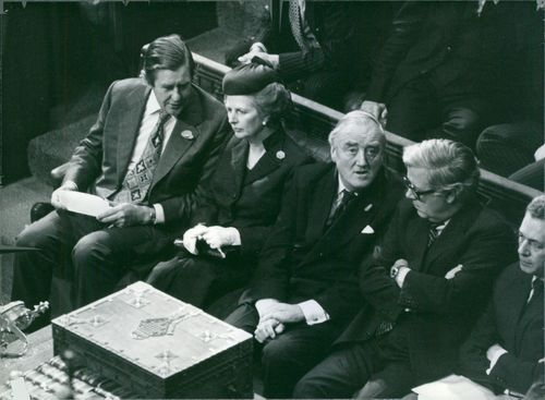 British Politician: Mrs. Thatcher & Front Bench Colleagues