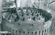 Reactor vessel manufactured by Degerfors Ironworks for Marviken