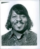 Portrait of Curtis Knight, 1969.