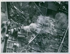 RAF daylight attack on Comines.