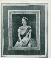 Queen Elizabeth II's Crown Procession 1953. One of the English Crown Souvenirs.