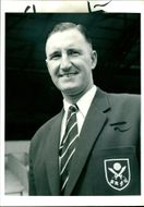 John Harris, former manager of Sheffield United F.C.