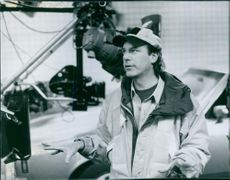"""A photo of Rob Cohen, director of the film """"Daylight"""". 1996."""