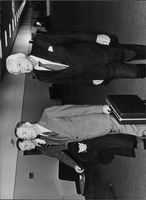Paul Nitze the Us Chief Negotiator at the arms reduction talks in Geneva in December 1981.