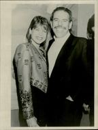 Portrait image of Linda Hamilton and Tom Max taken in an unknown context.