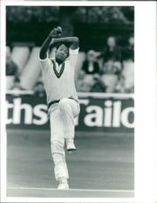 Cricketer Colin Croft