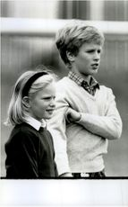Prinsessan Anne's barn, Zara och Peter Phillips