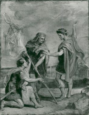 Sir Peter Paul Rubens: one of the series 12 sketches.