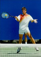 Tennis player Per Thornardtsson represents Sweden during the Australian Open.