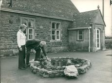 Schools 1970-1979:Mr and Mrs Clifford Medwin.