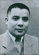 Portrait of North Vietnamese politician Phan Anh, 1965.