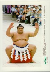 Japanese sumo champion Musashimaru won at the 67th competition in the Great Master.