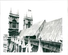 Westminster Abbey's south and west towers