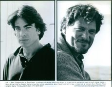 Peter Gallagher stars as David Lewis and Bruce Altman as Paul in To Gillian On Her 37th Birthday.