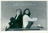Schools 1980-1987:Tracy pett and angela kunda.