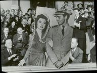 """Picture by Greer Garson in the movie """"Flowers in Shadow"""""""