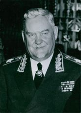 Nikolai Bulganin   Soviet politician, who served as Minister of Defense (1953–55) and Premier of the Soviet Union (1955–58).