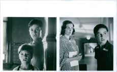 Stills from the film King of the Hill, wit Cameron Boyd, Jesse Bradford and Karen Allen.