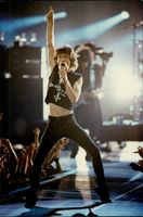 Mick Jagger on stage during the MTV Music Awards galan in New York