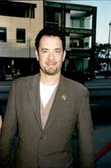 """Tom Hanks at the premiere of """"Apollo 13"""" in Hollywood"""