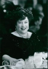 """Kathy Bates as Margaret """"Molly"""" Brown in Titanic."""