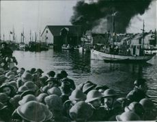 The British raid on the Lofoten Island. 1941