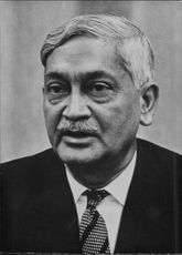 Portrait of Birendra Narayan Chakraborty.