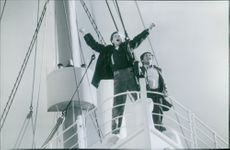 """A scene from the film """"Titanic"""" 1997"""