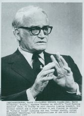 "Barry Goldwater on ABC TV's ""Good Morning America"""