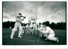 Cricket (1982) cricket team all out of 0 with matthew  and wicket
