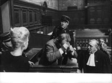 Brigitte Bardot in court.