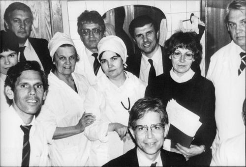 The Soviet-American-Israeli physician who performed the majority of transplants at Hospital No. 6 in Moscow.