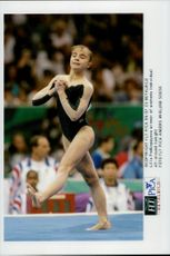 Gold Medalist Lilia Podkopayeva in the 1996 Olympic Games