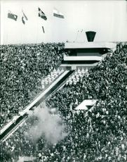 People gathered to attend an event.