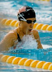 The American Swimmer Nall.