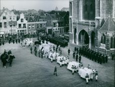 Wilhelmina of the Netherlands funeral march.