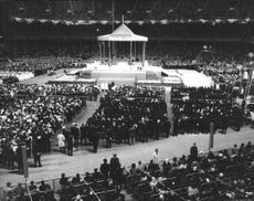 Pope Paul VI in an event.