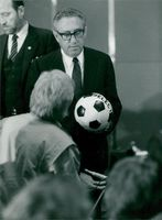 Henry Kissinger disappointed after FIFA's decision to give Mexico the World Cup 1986