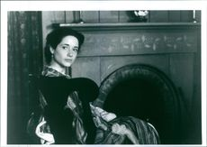 "Trini Alvarado as Margaret ""Meg"" March, the oldest March sister, on the set of the film ""Little Women""."