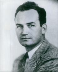 Barry Goldwater pictured in the early days of his marriage.