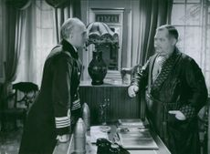"Carl Olof Magnus Winnerstrand  and Erik ""Bullen"" Berglund in the  swidish movie Familjens hemlighet. 1936"