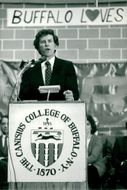 Senator Gary Hart speaks