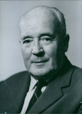 A portrait of a British Labour Party politician Henry Hynd. Labour M.P. for Accrington since 1950; for Central Hackney 1945-50. 1966