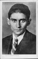 Portrait of the author Franz Kafka - Year 1923