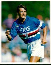 Roberto Mancini football Sampdoria FC
