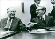 A humorous exchange between Dr. Henry Kissinger and James Callaghan.